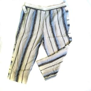 Supply and Demand Striped Percy Ankle Pants